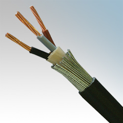 Steel Wired Armoured (SWA) PVC Cable 3 Core - Elevator Equipment