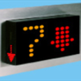 3-D Three Colour LED Dot Matrix Display Indicator: MFCU50 - 2A - 3D Detail Page