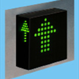 3-D Three Colour LED Dot Matrix Display Indicator: MFCU76 - 1 - 3D Detail Page