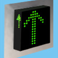 3-D Three Colour LED Dot Matrix Display Indicator: MFCU50 - 4 - 3D Detail Page