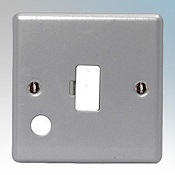 Metal Clad 13A Fused Spur With Flex Outlet Detail Page