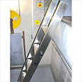 Compact Ladder Kit  Conforms to EN 81-20, Manufactured to EN 131. With Electrical Switch Detail Page
