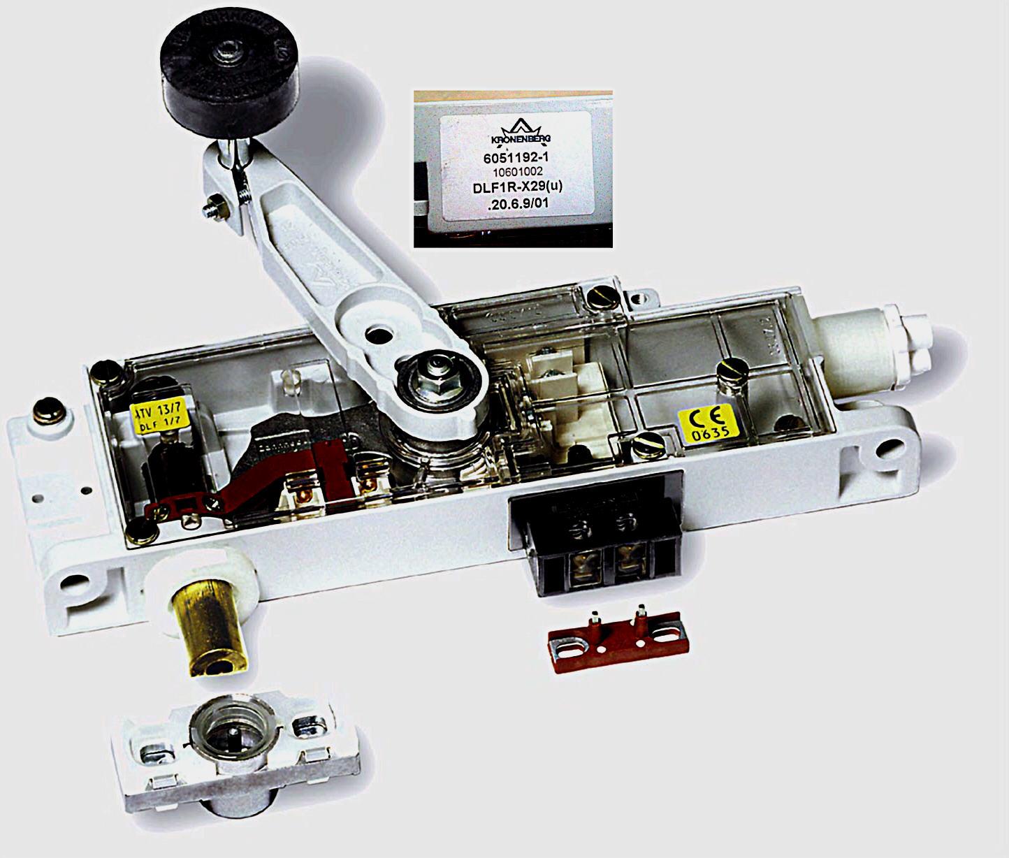 Kronenberg Door Lock Type Dlf 1 7 Amp 1 6 Elevator Equipment
