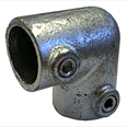 Elbow - Two Way - 90 degrees - Galvanised Detail Page