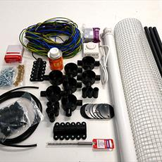 Machine Room Heater Kit With PVC Fittings Detail Page
