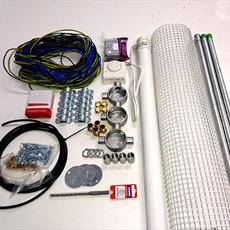 Machine Room Heater Kit With Galvanised Fittings Detail Page