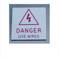 Danger Live Wires Notice Detail Page