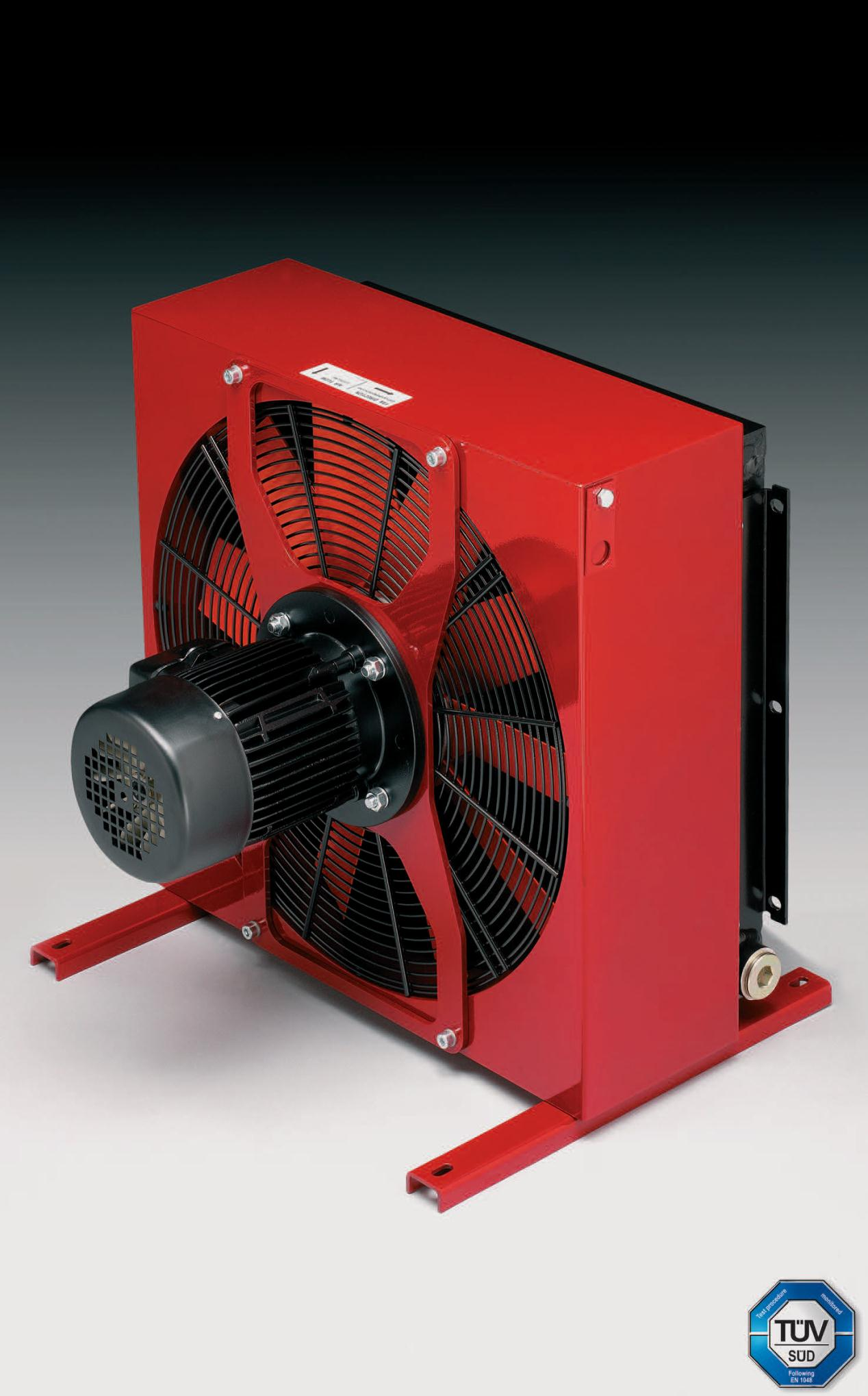 Compact Hydraulic Oil Coolers : Oil coolers elevator equipment