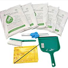Spill Kit with EX SORB Oil and Chemical Absorbent Detail Page