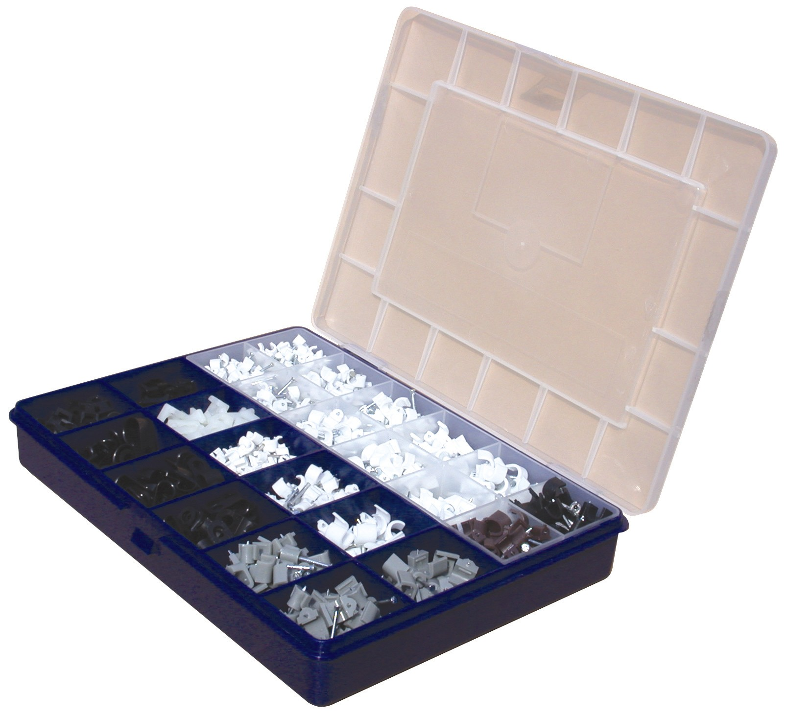Assorted Nail Clip & Fixing Kitbox - Elevator Equipment
