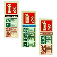 Fire Extinguisher Signs - Carbon Dioxide - Powder - Foam Detail Page