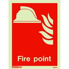 Fire Point Marker Sign Detail Page