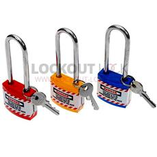 Jacket Lockout Lock With Long Shackle - Set of 3 Detail Page