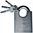 Closed Shackle Padlock Detail Page