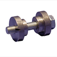 KONE - 2 Top hats ( 1 plain, 1 threaded ) M8 Bolt Detail Page