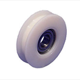 FURSE - Nylon door hanger wheel (Flat track) with concentric pin. Detail Page