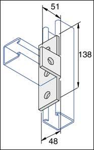 Bracket, 90 Degree T Bracket - Elevator Equipment