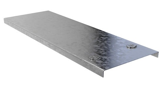 Galvanised Cable Trunking Spare Cover Detail Page