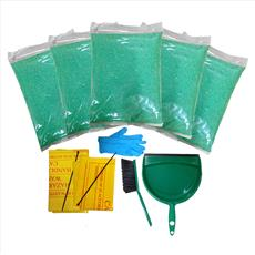 Spill Kit with E-SORB Oil and Chemical Absorbent Detail Page