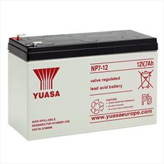 NP7-12 (12V 7Ah) Yuasa General Purpose VRLA Battery Detail Page