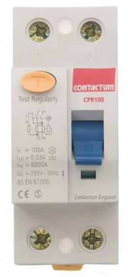 Residual Current Device (RCD) TP+Switched Neutral (Incomer) Detail Page