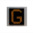 Three Colour LED Dot Matrix Display Indicator: MFCU50 - 4  (100mm) Detail Page