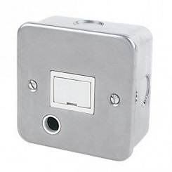 Metal Clad 13A DP Fused Spur With Flex Outlet Detail Page