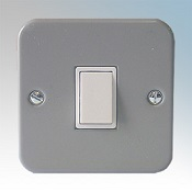 Metal Clad 20A Double Pole Switch Detail Page