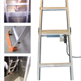 Removable Pit Ladder With Electrically Switched Wall Mounting Bracket - EN81-20 Detail Page