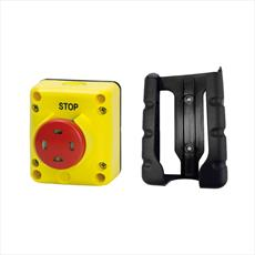 TLP1.VPP - Push Pull Flag Indicator Stop Switch On Pendant With Wall Bracket Detail Page
