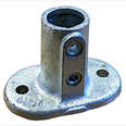 Base Flange Oval - Galvanised Detail Page