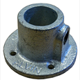 Wall Fixing - Round Fitting - Galvanised Detail Page