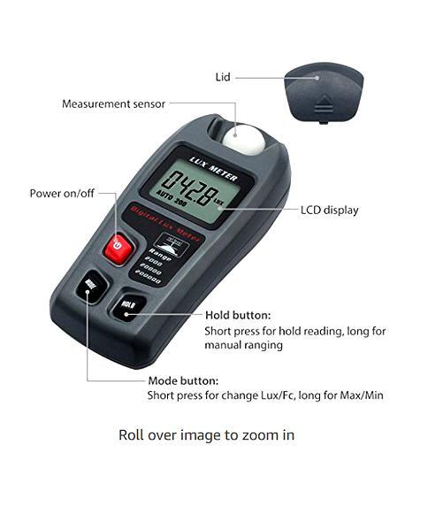Lux Meter - Digital - Elevator Equipment