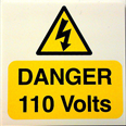 Danger 110 Volts Notice Detail Page