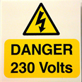Danger 230 Volts Notice Detail Page