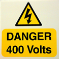 Danger 400 Volts Notice Detail Page