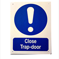 Close Trap Door Notice Detail Page
