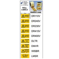 Self Adhesive Warning Labels Detail Page