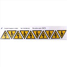 Self Adhesive Electric Labels Detail Page