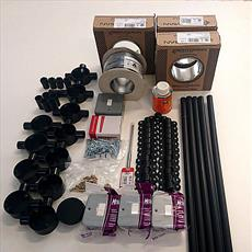 LED - Budget Shaft Lighting Kits - Various Lamp Options - PVC Conduit Detail Page