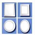 Flush Mounted SQUARE & ROUND LED Ceiling Panels Detail Page