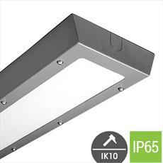 Vandal Resistant LED Light Fitting - Surface Mounted Detail Page