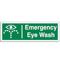 Emergency Eye Wash Sign Detail Page