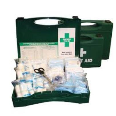 First aid kit high hazard