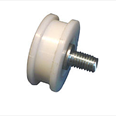 IGV - Nylon roller with eccentric pin - Flat track. Detail Page