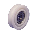 PICKERINGS - Nylon door hanger wheel - Curved track - Overall diameter 50mm / Shaft diameter 10mm Detail Page