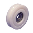 PICKERINGS - Nylon door hanger wheel - Curved track - Overall diameter 67mm / Shaft diameter12.7mm Detail Page