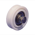 EXPRESS LIFTS - Nylon Door Hanger Wheel ( Flat Track ) with Concentric Pin Detail Page
